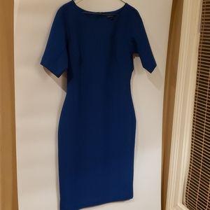 4/$25 Ann Taylor 6 blue dress